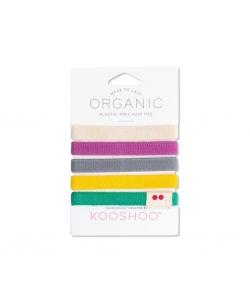 Екологічні резинки для волосся KOOSHOO (різнокольорові)