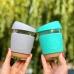 Скляна чашка для кави Neon Kactus, синя