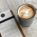 Скляна чашка для кави Neon Kactus, сіра