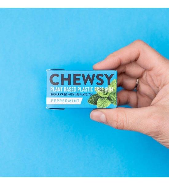 Веганська жувальна гумка без цукру Chewsy, Перцева М'ята