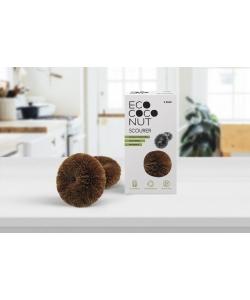 Кокосовые ежи для посуды, сантехники Ecococonut