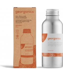 Масло для полоскания ротовой полости Georganics, апельсин