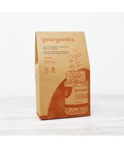 Таблетки для чищення зубів Georganics, річний запас 720 шт