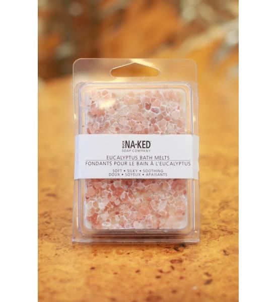 Масло для ванни Buck Naked Soap Company, Гімалайська сіль/Евкаліпт