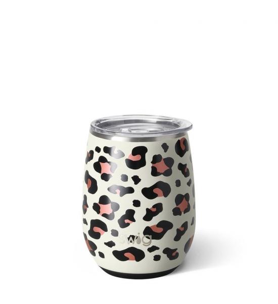 Термочашка Swig life, візерунок Luxe Leopard