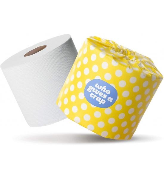 Туалетний папір Who gives a crap