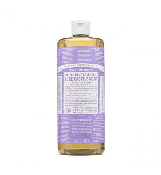 Рідке кастильське мило Dr. Bronner's, Lavender