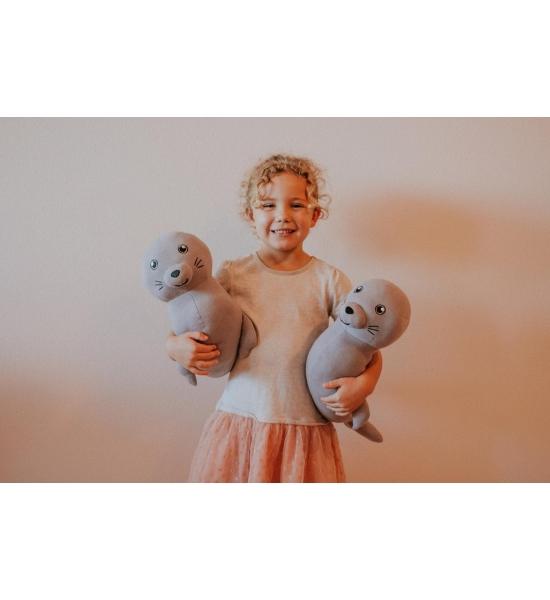 Мягкая игрушка Elly Lu, Тюлень