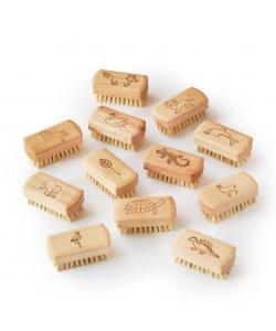 Щетка для чистки детских ногтей, маникюра Eco Living