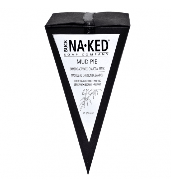 Грязевая маска с бамбуковым активированным углем Buck Naked Soap Company