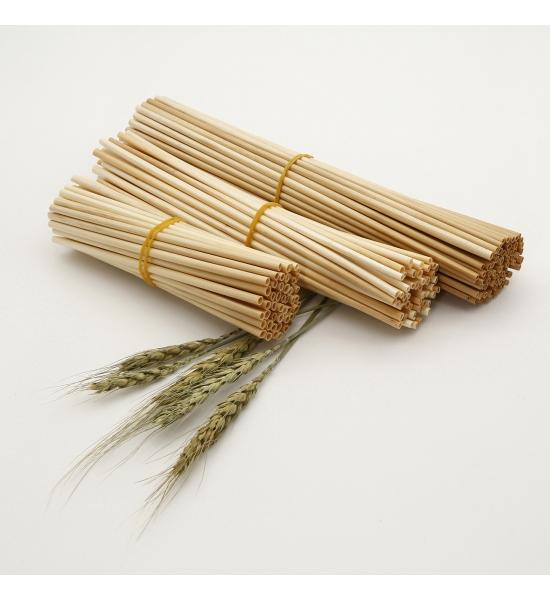 Одноразовые эко трубочки для напитков из соломы, Hay Straw