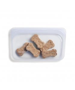 Силіконовий харчовий контейнер Stasher, snack bag 300 мл, колір Clear