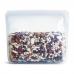 Силіконовий універсальний контейнер Stasher, stand-up bag 1,6 л, колір Clear
