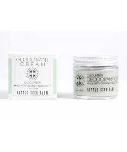 Кремовый дезодорант Огурец/Активированный Уголь, Little Seed Farm