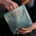 Силіконовий харчовий контейнер Stasher, sandwich bag 450 мл, колір Sky