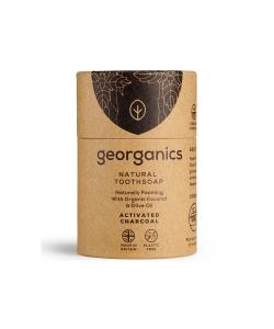 Угольное мыло для чистки зубов, отбеливающее Georganics, 60 мл