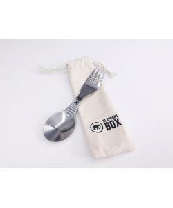 Вилка / ложка из нержавеющей стали (ловилка) Elephant Box
