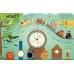 Книга з віконечками Lift-the-flap questions and answers about time, Usborne