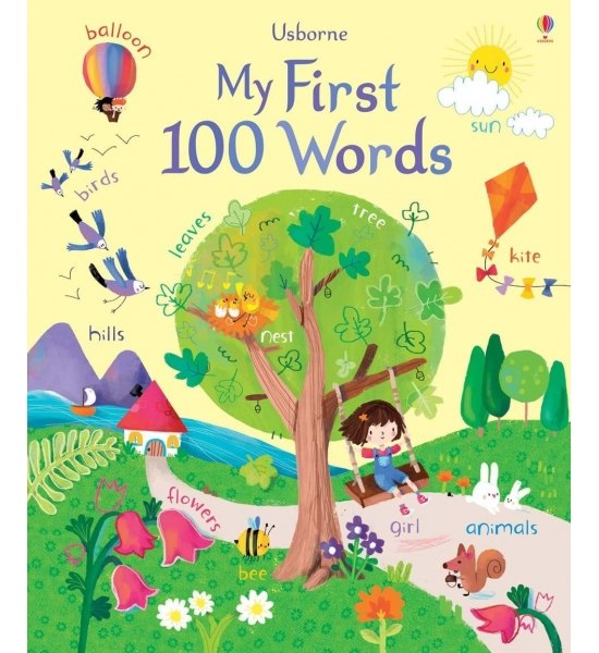 Книга My first 100 words, Usborne