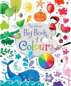 Книга Big book of colours, Usborne