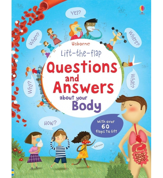 Книга Questions and answers About Your Body, Usborne