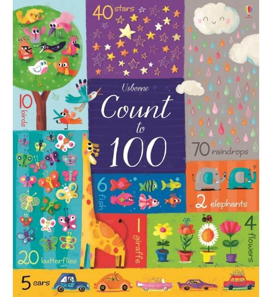 Книга Count to 100, Usborne