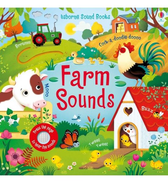 Книга Farm Sounds, Usborne