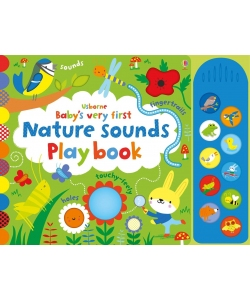 Книга Baby's Very First Nature Sounds Playbook, Usborne