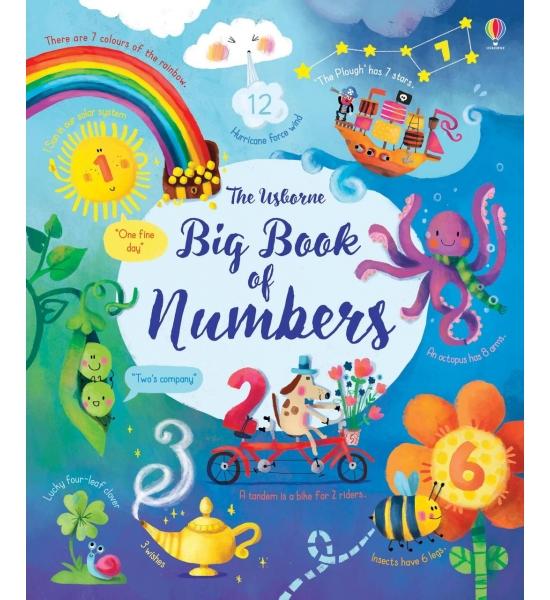 Книга Big Book of Numbers, Usborne