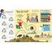 Книга з віконечками Lift-the-Flap Questions and Answers about Plastic, Usborne