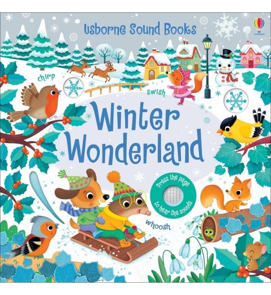 Книга Winter Wonderland Sound Book, Usborne
