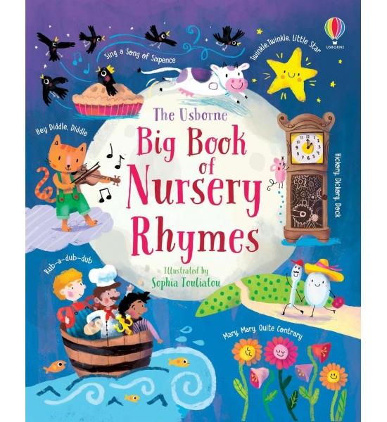 Книга Big Book of Nursery Rhymes, Usborne