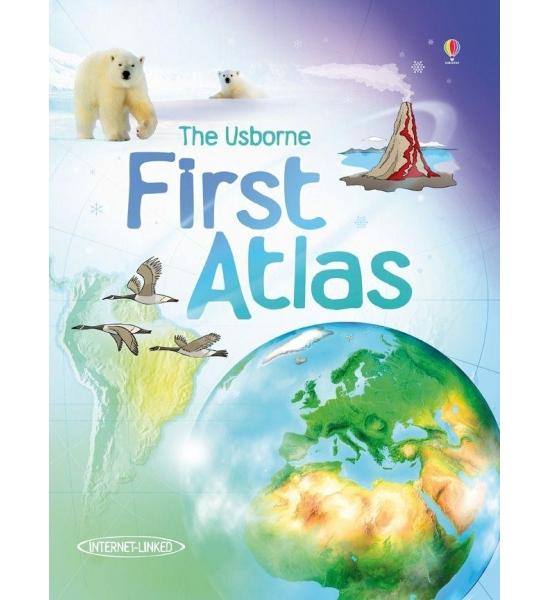 Книга First Atlas, Usborne