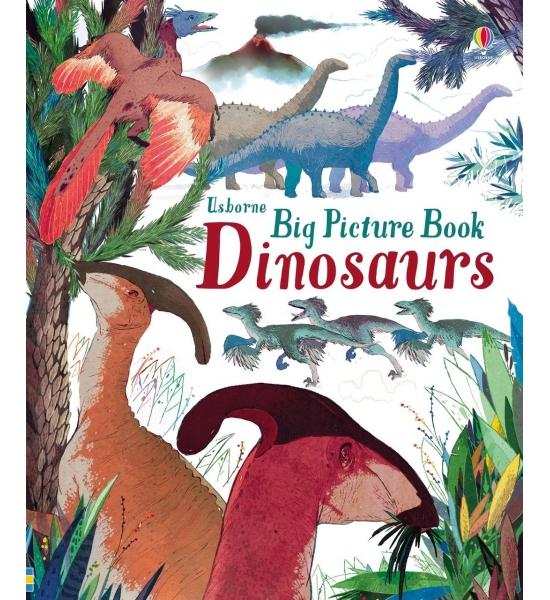 Книга Big picture book dinosaurs, Usborne
