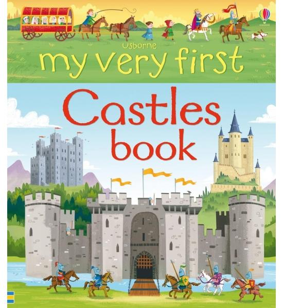 Книга My Very First Castles Book, Usborne