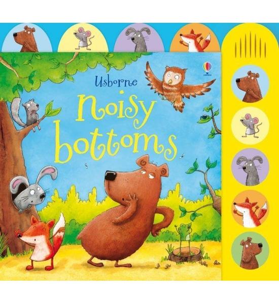 Книга Noisy Bottoms, Usborne