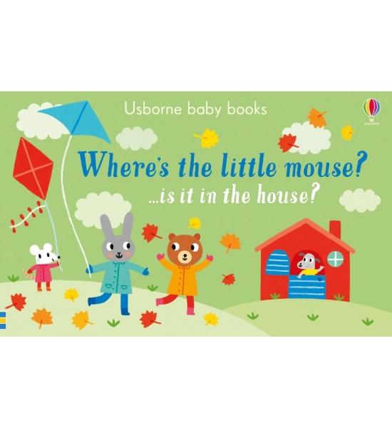 Книга Where's the Little Mouse?, Usborne