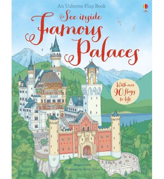 Книга See Inside Famous Palaces, Usborne
