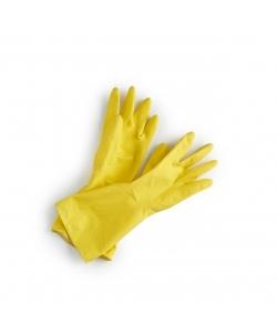 Натуральні гумові господарські рукавички Ecoliving, розмір L