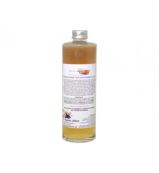 Уксусный ополаскиватель для нормальных и сухих волос Funky Soap