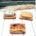 Прямоугольная мыльница из оливкового дерева, Eco Living