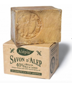 Алеппское мыло 40%, Alepia