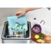 Силиконовый органайзер Stasher, sandwich bag 450 мл, цвет Aqua