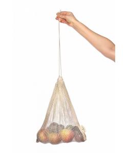 Мешочек из органического хлопка Eco Living, сетка