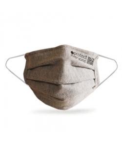 Серая многоразовая защитная маска для лица, ceae