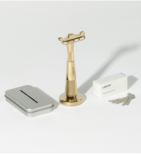 Многоразовая бритва Twig от Leaf Shave, цвет Gold