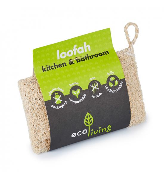 Люфа для мытья посуды Eco Living