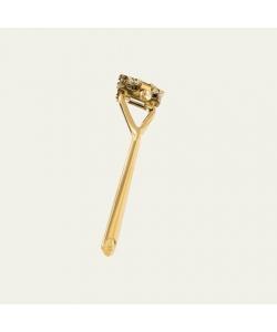 Многоразовая бритва с плавающей головкой Leaf shave, цвет Gold