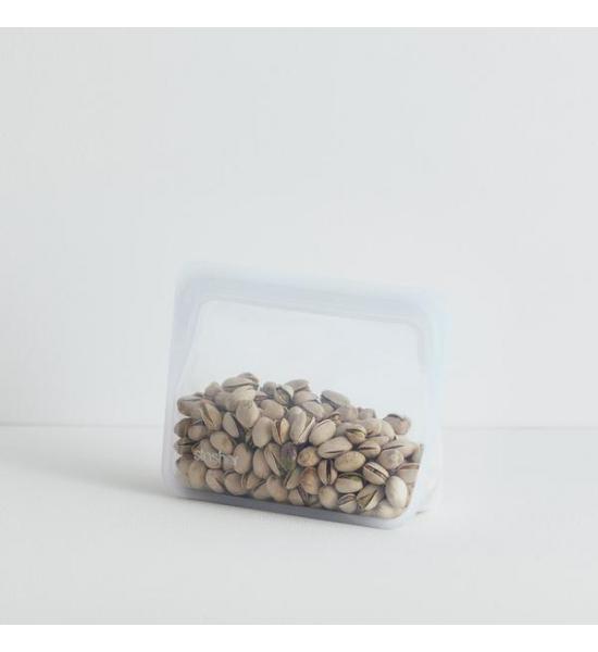 Силіконовий універсальний контейнер Stasher, stand-up mini bag 0,8 л, колір Clear