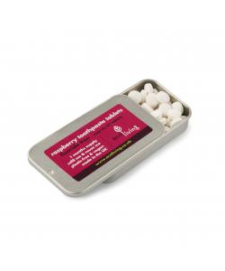 Таблетки для чистки зубов Eco Living, малина